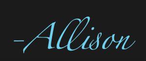 Allison Signature