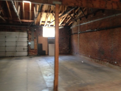 the rear warehouse space at 1454 Lincoln Blvd.